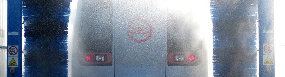 Lavaggio treni, tram e metro